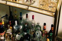 Bar carts and accessories  / by Nisha Patel