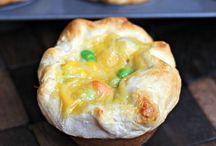 Chicken Pot Pie vs.  Shepherd's Pie / by Karen Rowland