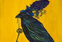 Birds ( Board 2)~Eagles, Hawks, Ravens, Crows and Such. / by Dale  F. Bernard
