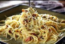 Pasta / by Jennifer 'Brown' Moss