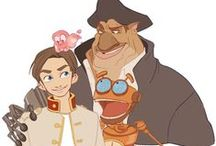 Treasure Planet / In honor of the most beautifully animated, underrated Disney movie ever.