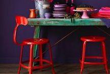 Aurora Red Fall Decor Ideas / Creative home decor ideas inspired by the Fall 2016 Pantone color: Aurora Red. For more inspiration visit https://www.ftd.com/blog/design/fall-decor-ideas.