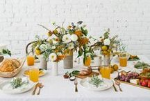 Spicy Mustard Fall Decor Ideas / Creative home decor ideas inspired by the Fall 2016 Pantone color: Spicy Mustard. For more inspiration visit https://www.ftd.com/blog/design/fall-decor-ideas.