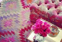 Bodacious Fall Decor Ideas / Creative home decor ideas inspired by the Fall 2016 Pantone color: Bodacious. For more inspiration visit https://www.ftd.com/blog/design/fall-decor-ideas.