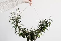 GREEN CHRISTMAS / Notes on celebrating Christmas ethically | decorations, crafts, ornaments, and recipes