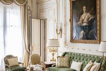 Classic Home Decor / Stunning Maximalist Decor Ideas - Glamorous Places  and classically pretty