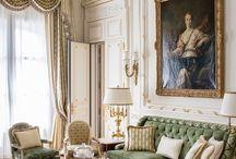 Maximal traditionalist interiors