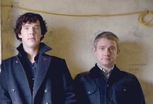 Holmes and Watson at 221B. / The name's Sherlock Holmes. And the address is 221B Baker Street. Afternoon!  / by Sydney J