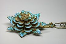 Brooches, Pendants, & Pins / by Eva Maria Keiser Designs