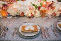 Fresh Modern Wedding / Fresh and Modern wedding look. Photos by Taylor Lord Photography, floral by STEMS floral, and Styling, Linens, and rentals by Premiere Party Central. Venue is Palmer Events Center.