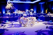Blue and White Wedding / Event Planner: Kennedy Creative      Floral: Westbank Flower Market      Cake: Simon Lee Bakery         Equipment Rental: Townsley Designs     Other Rentals: Premiere Events      Photographer: Studio 563