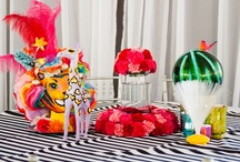 Carnival Theme Wedding / Vendors: Hummingbird House, Cory Ryan Photography, Hot Pink Brides, Pink Avocado Catering, Premiere Party Central