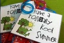 Kids gifts, activities (BOY, EOY, testing week)