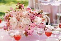 Pink Weddings We Love / Unique pink weddings that inspire us!