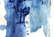 DESIGN: BLUE + WHITE