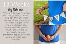 Weekly Bumpdate / #pregnancy #bumpdate #pregnant  / by Keep Calm and Carry On