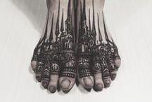 Tattoo'd Lifestyle Feet Tattoos / See more at www.tattoodlifestylemagazine.com