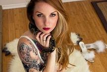 Kemper Suicide / See more tattoo'd babes at www.tattoodlifestyle.com