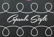 Capsule style / Capsule style handmade style with patterns, fabric and inspiration
