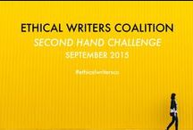 Second Hand Challenge / The Ethical Writers Coalition are taking on Fall Fashion 2015 with a #secondhandchallenge. Join us to learn more about buying and styling second hand fashion!