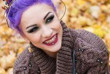 Lena Scissorhands / See more at www.tattoodlifestylemagazine.com!!