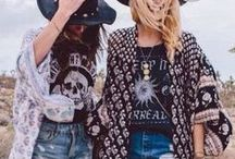 Boho Inspired / Beautiful and beachy. Cute and comfortable. Laid-back and fresh. Bohemian style is IN.