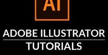 Adobe Illustrator Tutorials / This group board is a collection of all the Adobe Illustrator Tutorials that we love.