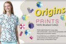Origins Prints / 100% Brushed Cotton WonderWink Origins Prints.