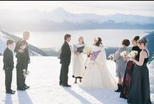 Alaska Destination Weddings / Anchorage Photographer Erica Rose shares destination wedding and elopement inspiration for intimate weddings in adventurous locations all across Alaska. www.erosephoto.com