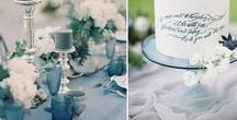 2017 Spring Wedding Trends / This spring, expect to see lots of bright, bold colors, mixed in with subtle earthly hues, led by Pantone's Niagara.
