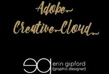 Adobe Creative Cloud / My favorite design software!  Eat, sleep and breath Adobe ;)