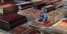 Getty Images At Ahwazian / Getty images - Dan Kitwood decided to come down to the Ahwazian warehouse and check out our Persian, Moroccan and Oriental Rug Collection.