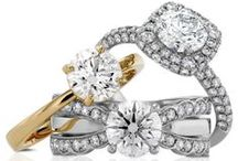 Engagement Rings / Because every girl is already dreaming about the absolutely perfect ring...right? ;-) Here is our inspiration of what will set your heart on fire!