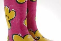 Ladies Gumboots / Wellies / We sell ladies groovy gumboots in plain colours such as pink, black,red & purple. We also have designs of Russian Dolls, Leopard Print, Zebra Print, Ladybirds etc. We also have a range of cute kids gumboots. Check them out on our website!