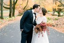 Autumn Wedding / Cooler temps, beautiful colors, fun holiday themes...what is not to love about Fall weddings? And how could you not be inspired by these amazing ideas...
