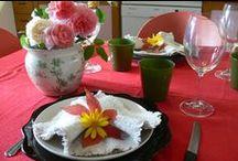 Tablescape / Arte di preparazione del tavolo