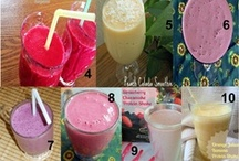 Smoothies..juicer recipies / by Jennyshere Calgary
