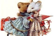 Marjolain BASTIN, artist / Marjolain Bastin, painter, artist, illustrator. Vera the Mouse! / by Debby Moore