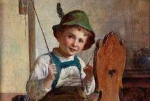 Edmund ADLER, artist / Edmund Adller, Austrian painter (1876-1965) / by Debby Moore