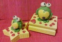 Manualidades y Pasta Flexible / Muñecos hechos 100% a mano. de pasta flexible (pasta francesa).