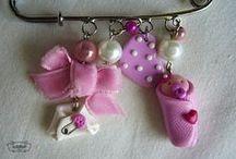 Baby Shower / Recuerdos/Regalos/Punto de Cruz/Pasta flexible. Todo para Baby Shower