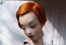 MANNEQUINS / New and used mannequins of the past. Their beautiful faces are still there today. / by Debby Moore