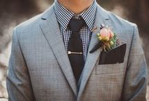 Perfectly Groomed / Grooms want to look just as good as the bride on their big day too! Here are our favorite groom looks that will perfectly compliment any gorgeous bride!