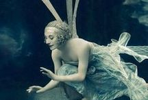 BALLET FAIRIES  / Vintage ballet and fairies. / by Debby Moore