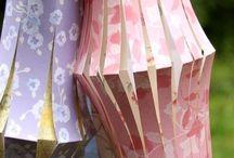 Lanterne di luce / Magiche lanterne di carta