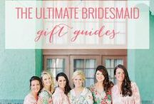 Bridesmaid Gifts / Cute gifts to thank your bridesmaids for the time and effort they put in to making your big day feel as special as possible!