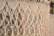macrame curtains / Tendaggi particolari