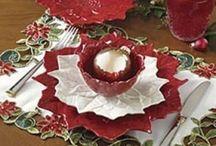 Christmas table idee / Come decorare la tavola a natale