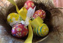 Easter decorations / Idee per la pasqua