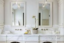 Lifestyle - Elegant Bathrooms / After the wedding.... you'll probably want another project! Renovating your new house is a great idea! Follow me here for stylish, classic bathroom design ideas and inspiration